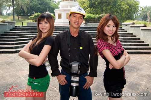 C.S.Hii & Models Ms. Chung & Ms. Pamela