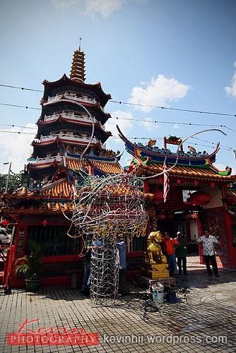 "Dragon Head at Sibu ""Tuo Pek Kong"" Temple"
